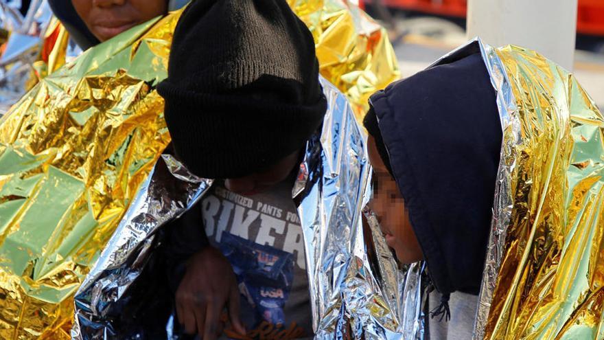 España, Alemania, Francia e Italia piden el reparto obligatorio de migrantes