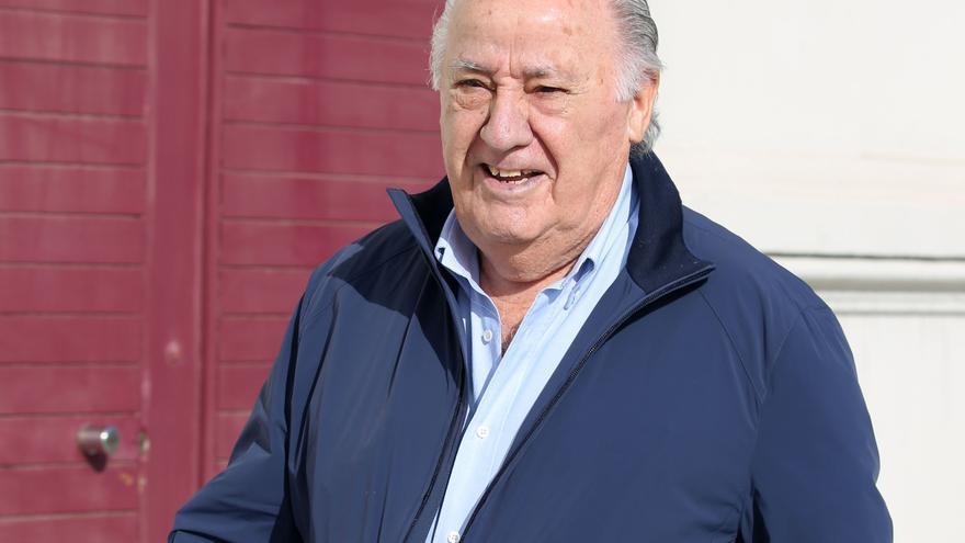 Amancio Ortega entra en Red Eléctrica con un 5% valorado en 456 millones