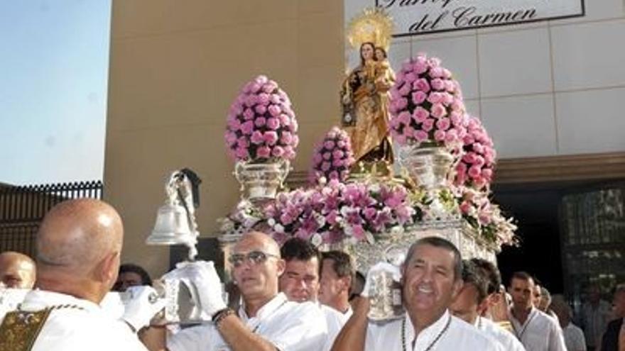 Benalmádena celebra el día de la Virgen del Carmen bajo medidas de seguridad