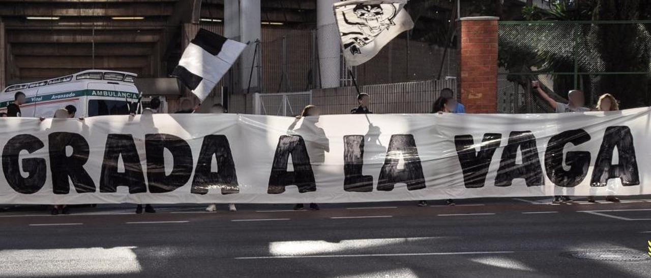 El Castellón prohíbe entrar a Castalia a una pancarta del 8-M