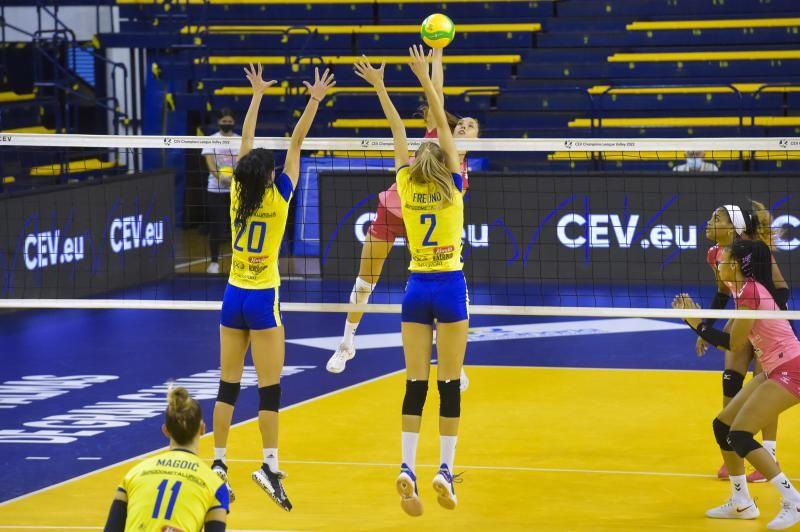 Voleibol: G. Canaria Urbaser - Mladost Zagreb