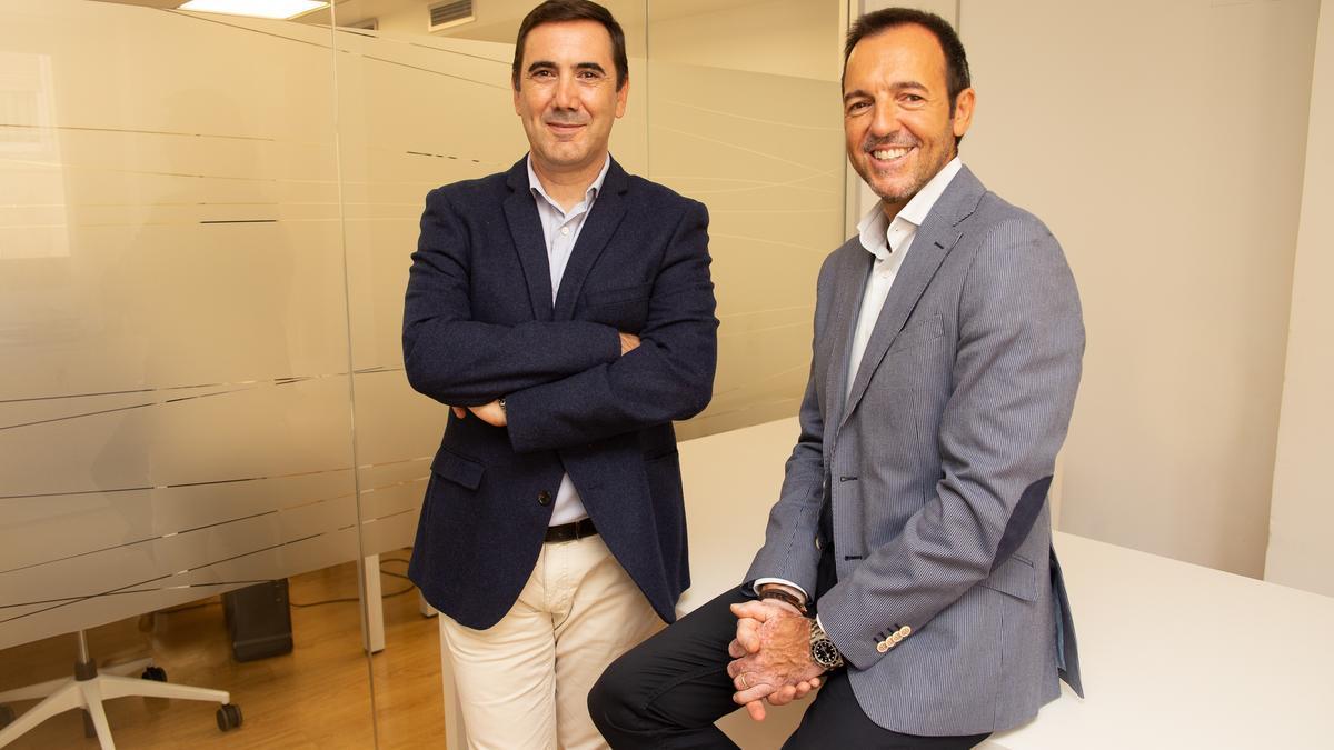 Antonio G. Asturiano y Juan Manuel Peré