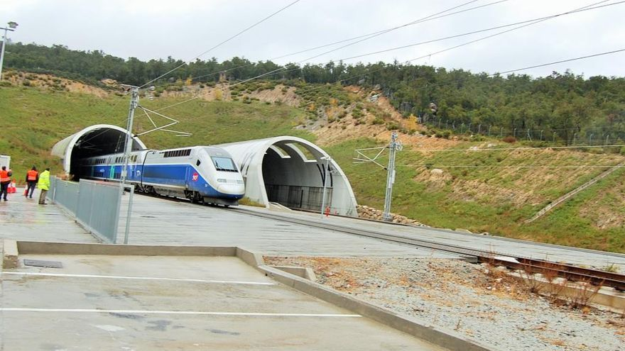 La UE imposa la reconversió d'un túnel del TGV en variant de l'N-II al Pertús