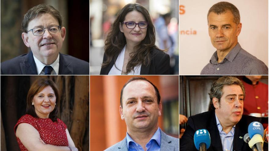Estos son los candidatos a las elecciones autonómicas 2019