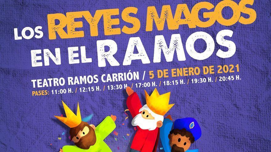 Programación en el Ramos Carrión de Zamora: monólogos, música y Reyes Magos