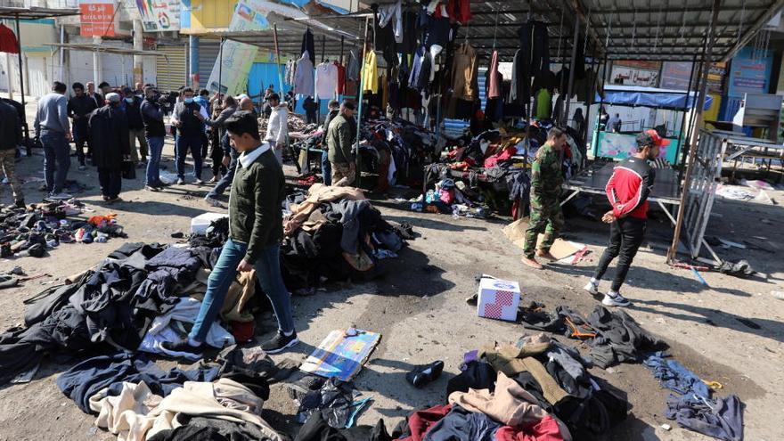 Almenys 20 morts en un doble atemptat suïcida a Bagdad