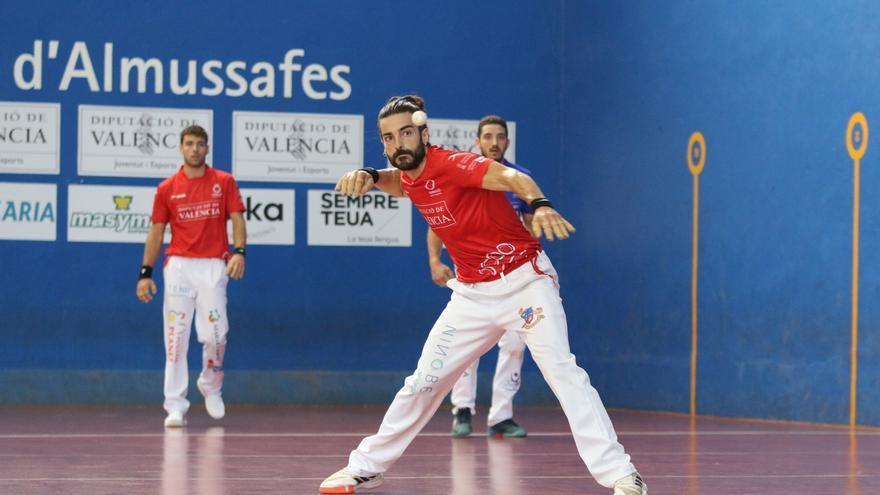 XVI Trofeu Diputació de València de frontó: arguments  diferencials de campions