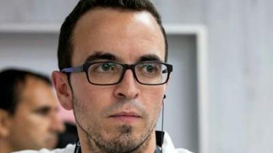 Carlos Llamas, nuevo director de comunicación del Sporting