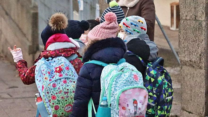 Los contagios en los centros educativos se elevan a 2.100 tras el parón de las Navidades