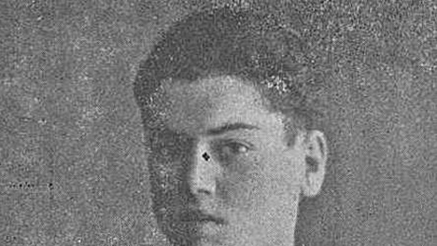 Emilio Pereiro, el  Noel de hace un siglo