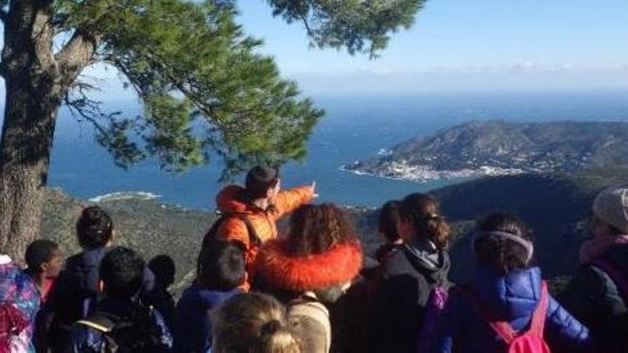 El Parc de cap de Creus enllesteix un pla educatiu i de voluntariat ambiental