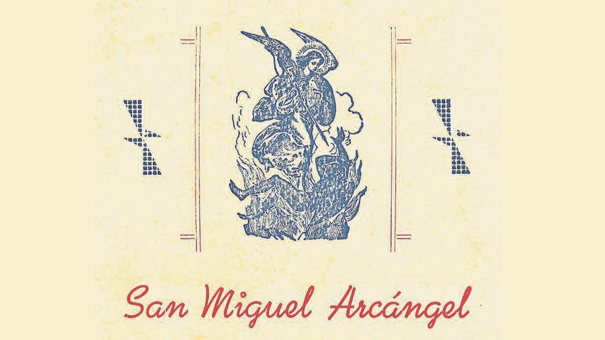 Imagen de San Miguel Arcángel, cuya festividad se celebra el 29 de septiembre.