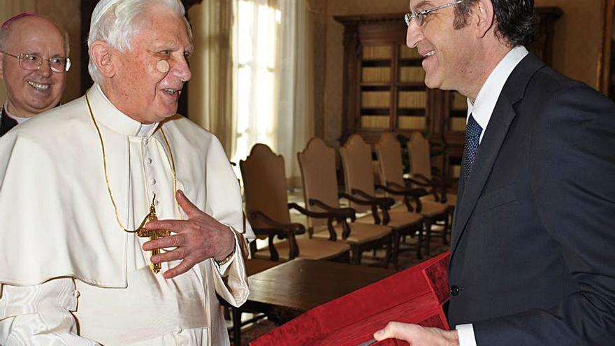 Feijóo se reunirá con el Papa el próximo 14 de junio para darle impulso al Xacobeo