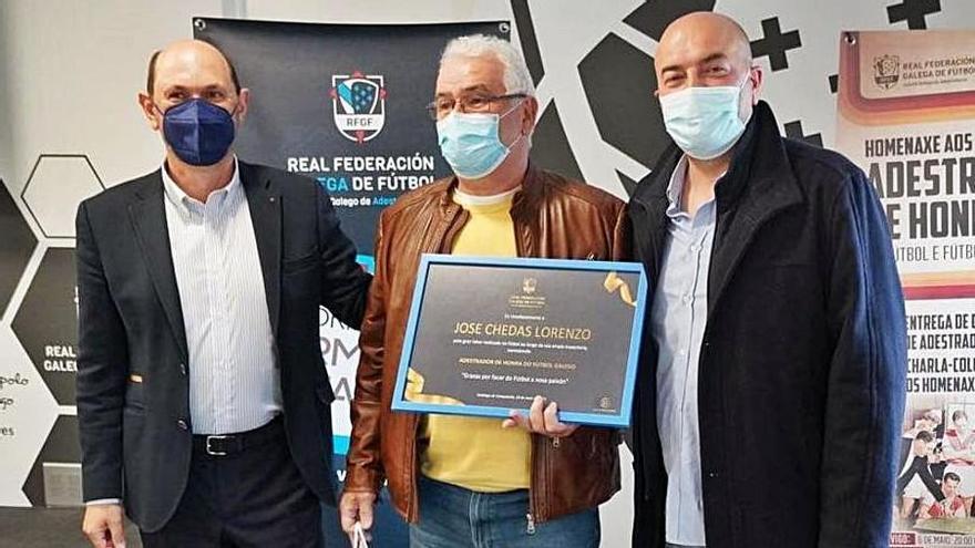 Reconocimiento a Severino López y Pepe Chedas