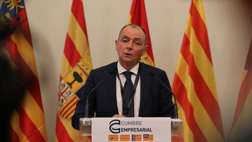 Los empresarios de la 'Corona de Aragón' reivindican las ampliaciones del Puerto de València y el Aeropuerto de El Prat