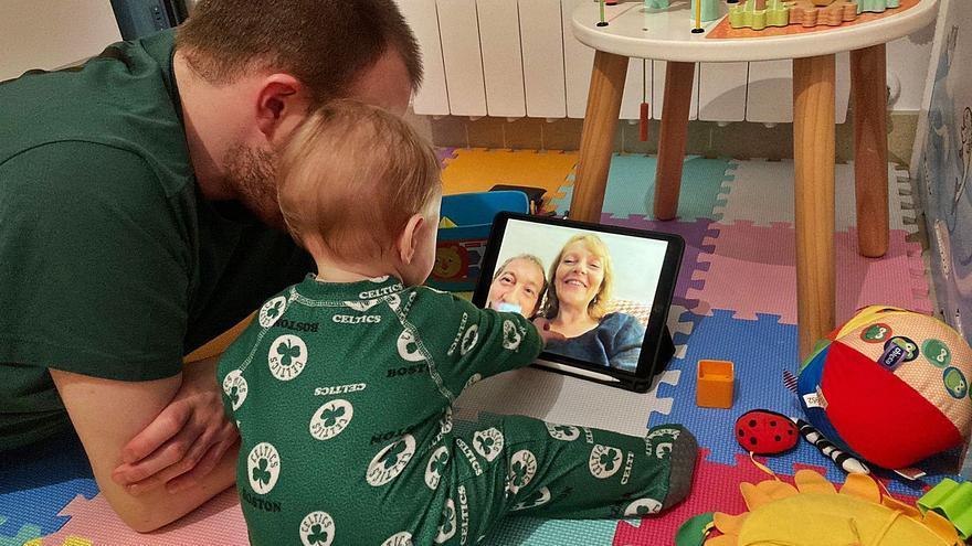 La abuela que vive en el iPad