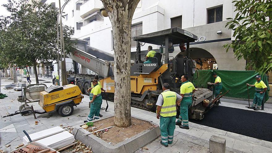 Las obras del bulevar modifican el tráfico