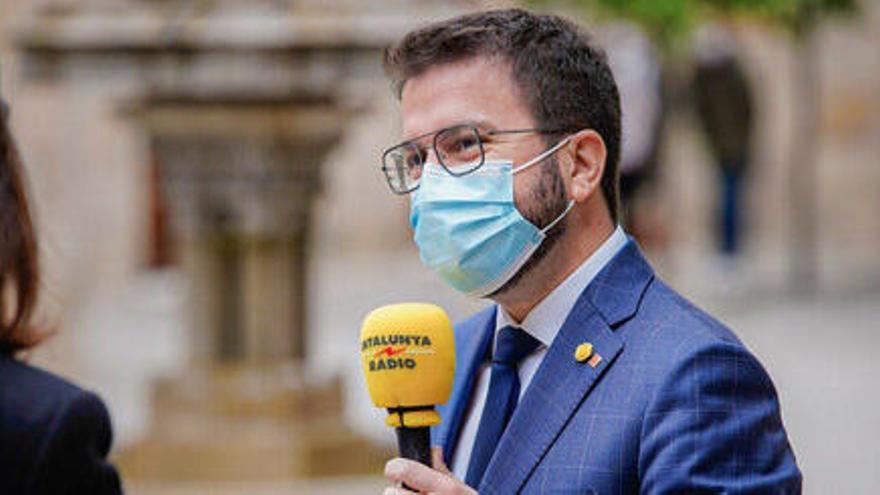 Aragonès ja negocia amb Puigdemont per desencallar  la investidura