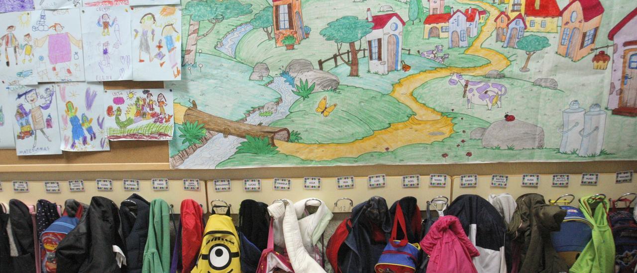 Imagen de un colegio.