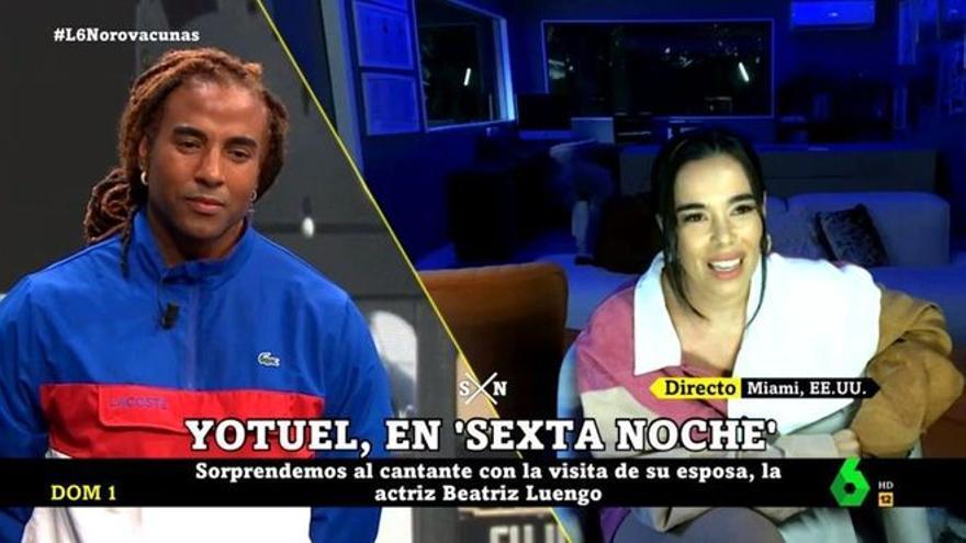 """Beatriz Luengo sorprende a Yotuel y le muestra su apoyo: """"Quiere ver a su país libre y le acompaño como puedo"""""""
