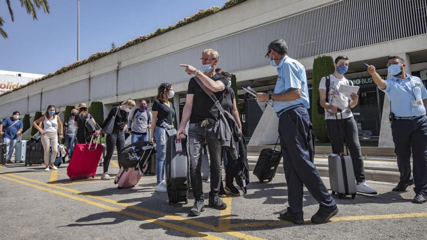 Alemanes de 14 estados federales podrán venir a Baleares desde el lunes sin pasaporte covid
