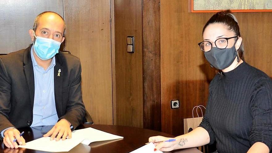L'Ajuntament renova el conveni amb la UBIC per donar suport a la dinamització comercial