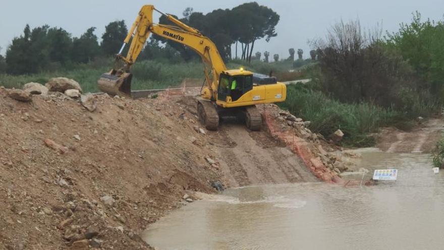 La CHS incumple el plazo para reparar el cauce del Segura en Almoradí