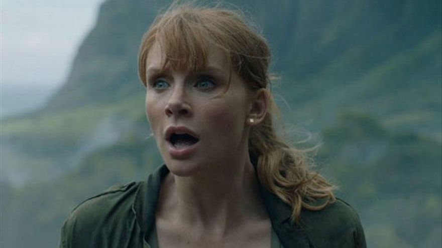 Esta es la escena de 'Jurassic World 2' que hizo que Bryce Dallas Howard se desmayara de miedo