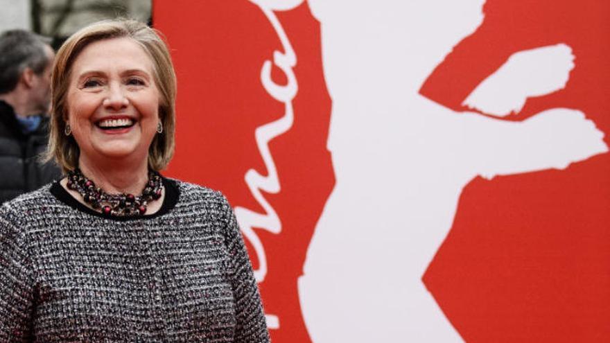 Hillary Clinton, estrella en la Berlinale