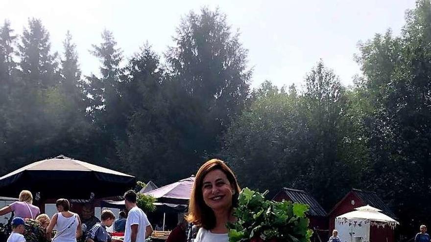 """Teresa Orjales Vidal: """"En Lalín aprendí a divertirme porque allí me dejaron ir por primera vez a una verbena"""""""