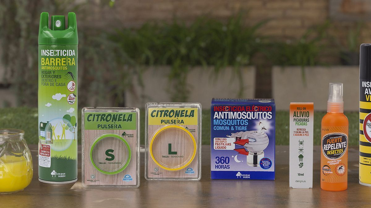 Línea de productos antimosquitos de Mercadona