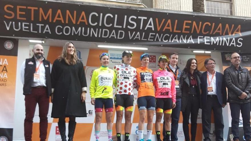 Ruth Winder se impone en la primera etapa de la Setmana Valenciana