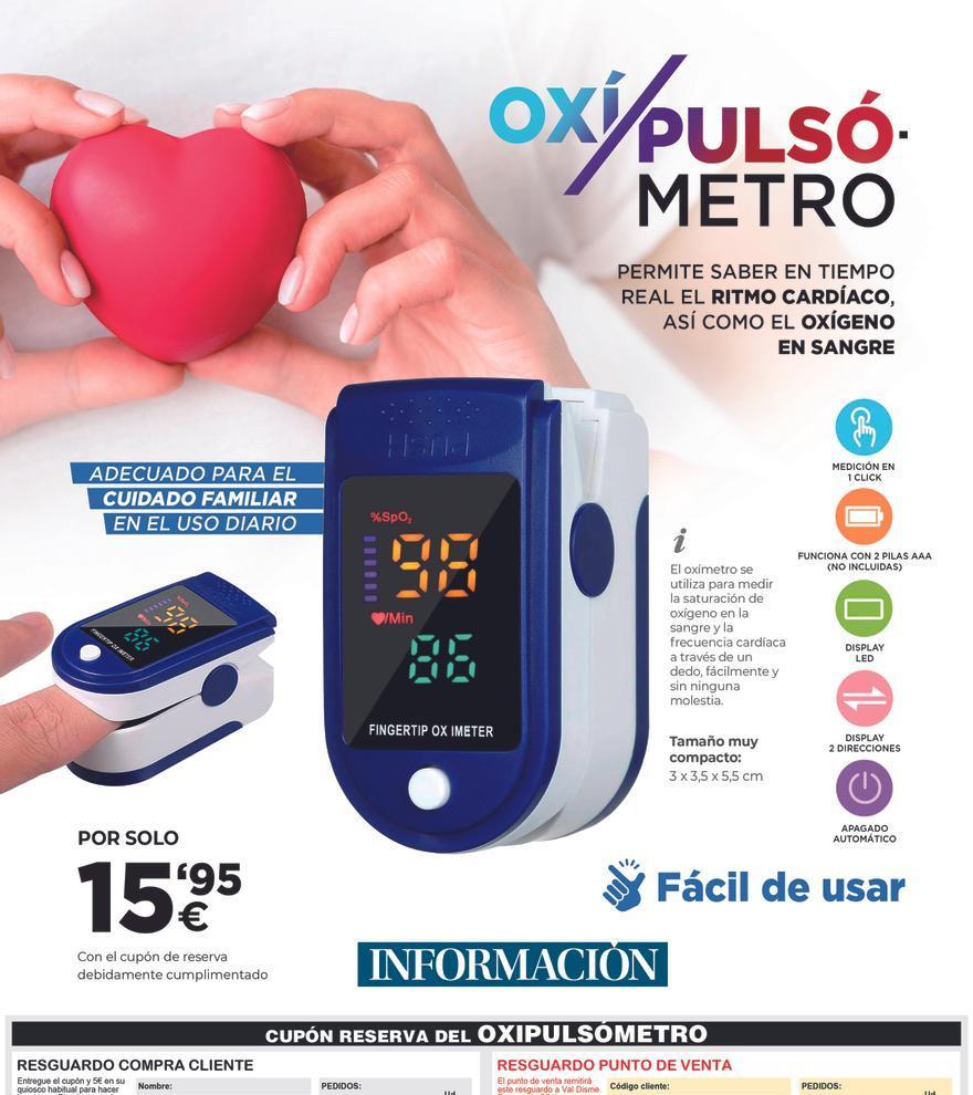 Oxímetro-Pulsómetro