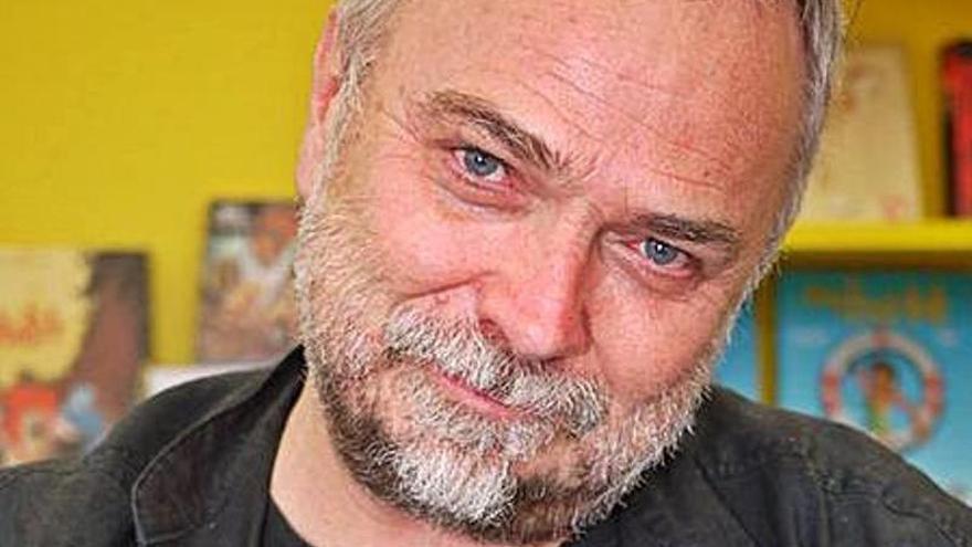 "El francés Olivier Vatine, el creador de ""Aquablue"", en las Jornadas del Cómic"