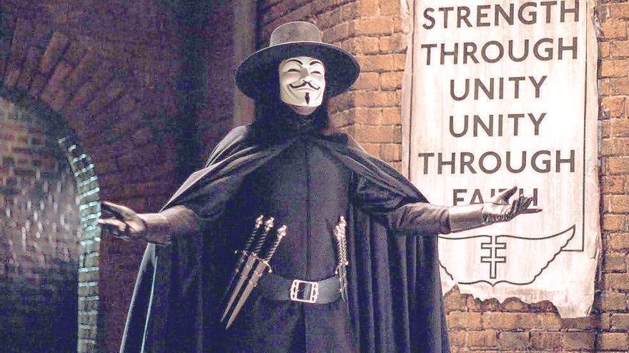 La película del Joker estará inspirada en 'V de Vendetta'