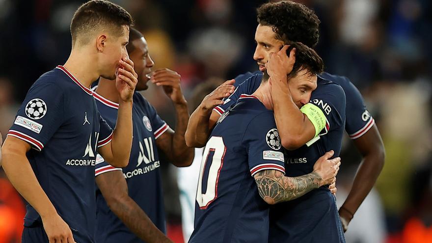 Messi anota su primer gol europeo para el PSG en el triunfo sobre el Manchester City