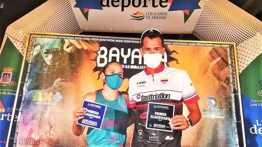 Díaz y Arostegui dominan la prueba de Puerto Naos