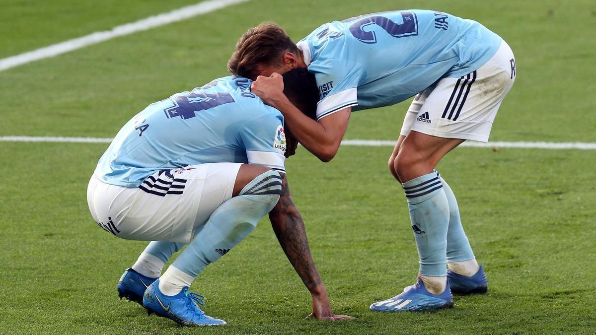 Las mejores imágenes del Celta - Osasuna