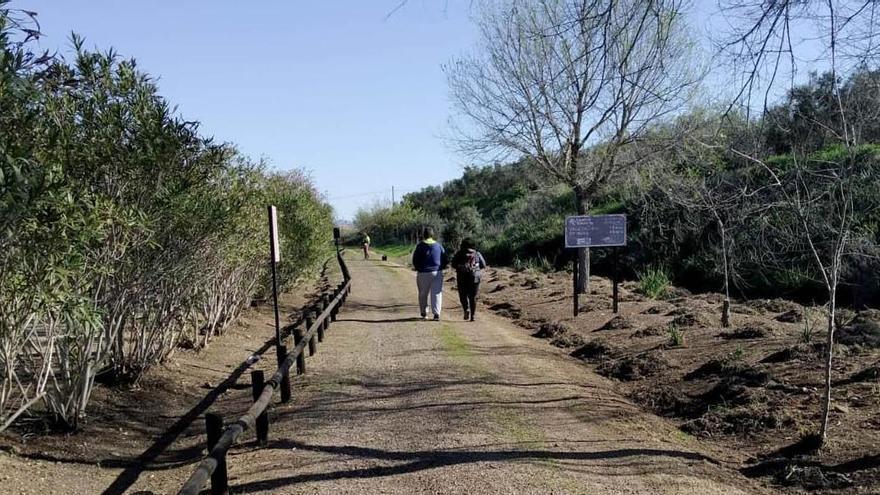 La Diputación destina 151.000 euros a la mejora de la Vía Verde de la Campiña