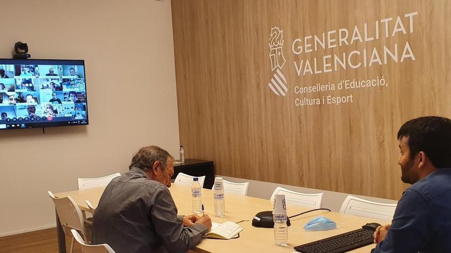 El Consell reúne al Foro Educativo Valenciano para preparar el reinicio de curso
