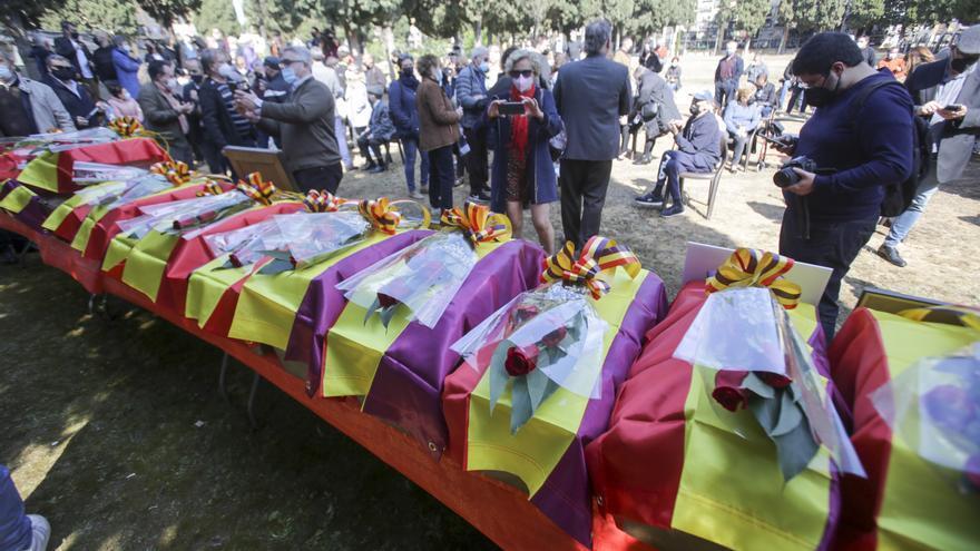 Paterna rescata a 17 represaliados del franquismo de la Fosa 127