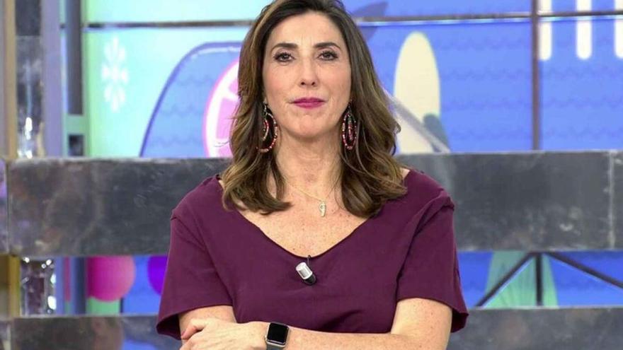Paz Padilla reaparece este sábado en televisión tras la muerte de su marido