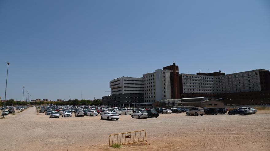 El nuevo aparcamiento del hospital Universitario contará con 967 plazas