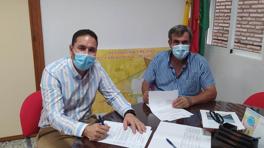 La Delegación de Infraestructuras Rurales mejora el camino rural 'De Palma' en Fuente Carreteros