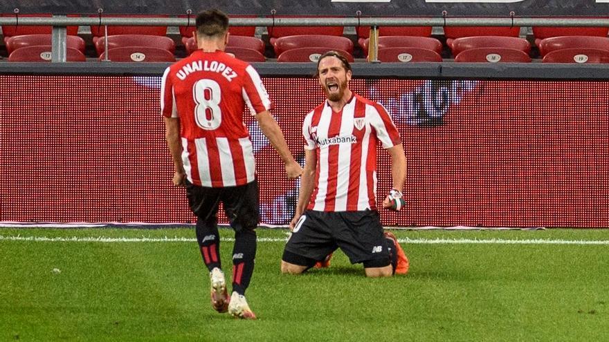 Muniain y Sancet firman la remontada del Athletic
