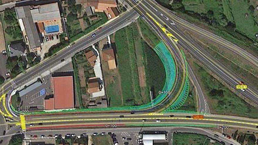 Convocan a propietarios de los terrenos del enlace de la autovía del Salnés con la PO-504