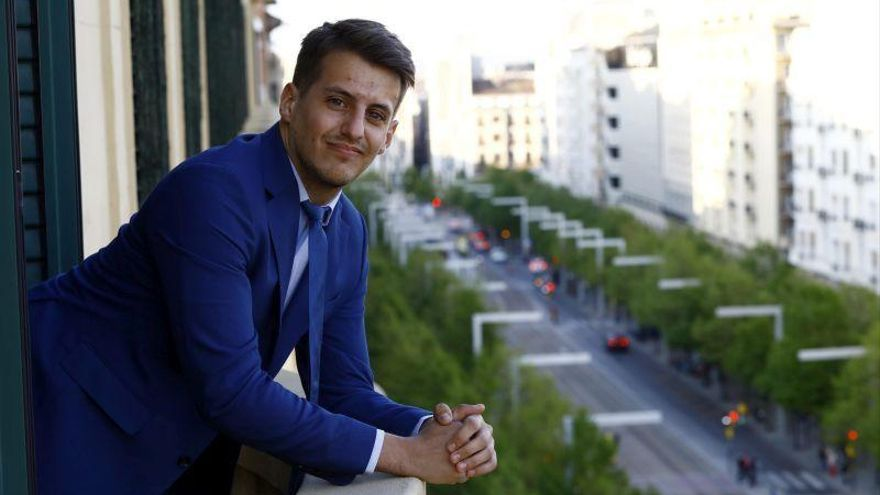 """Jorge Pueyo: """"Es bonito cuando la gente me dice que hablo como su abuela"""""""