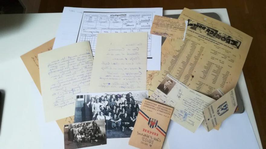 El MUME de la Jonquera incorpora els documents privats d'un supervivent català en un camp de concentració nazi