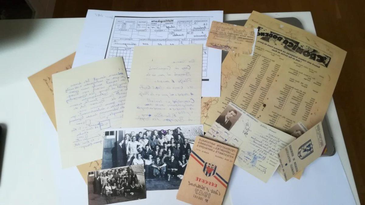 Imatge dels documents que s'exposen al MUME.