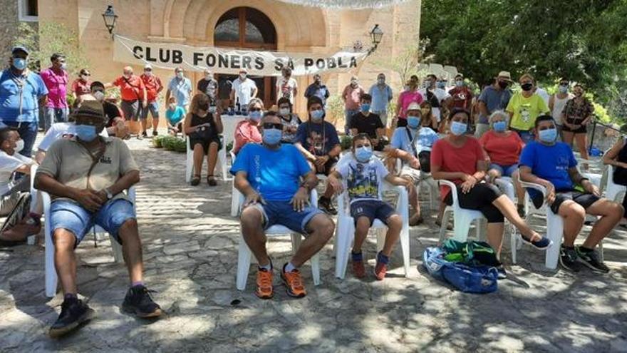 El Club Foners Sa Pobla arrasa en la Ermita de Crestatx